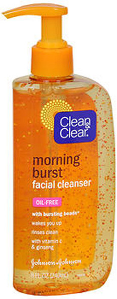 Clean & Clear Morning Burst Facial Cleanser Oil-Free - 8 fl oz