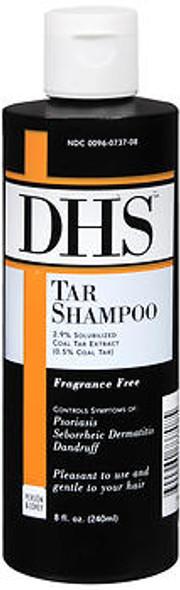 DHS Tar Shampoo Fragrance Free - 8 oz