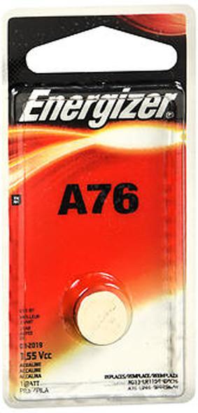 Energizer Zero Mercury Watch/Electronic Battery A76 - 1 each
