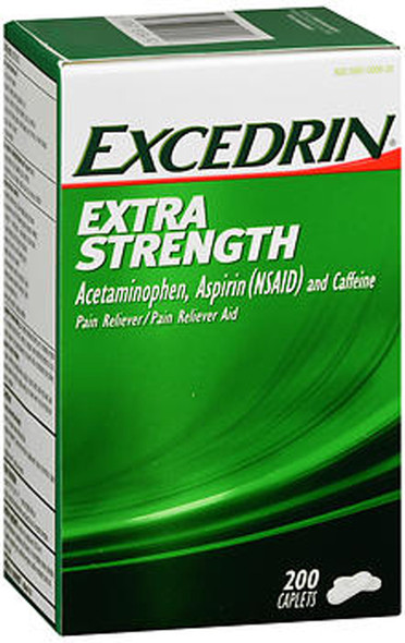 Excedrin Extra Strength Pain Reliever - 200 Caplets