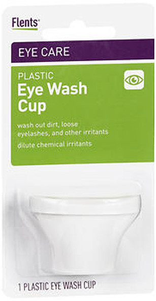 Flents Plastic Eye Wash Cup - 1 each