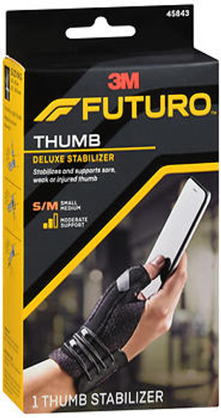 Futuro Deluxe Thumb Stabilizer S-M Moderate, 45483EN - 1 each