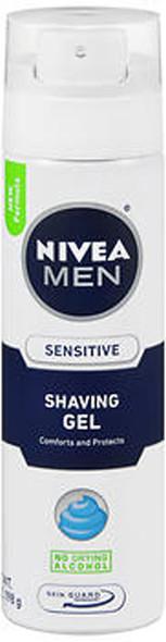Nivea For Men Sensitive Shaving Gel - 7 oz