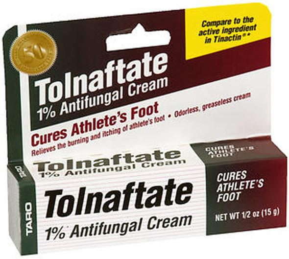 Taro Tolnaftate 1% Antifungal Cream - 0.5 oz