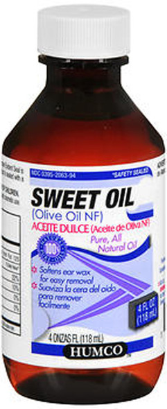 Humco Sweet Oil- 4 oz