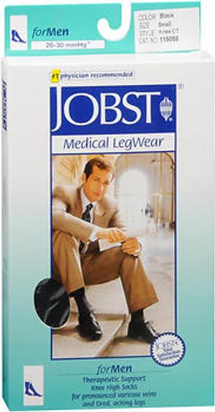 Jobst Medical LegWear Therapeutic 20-30mmHg* Small, Black Support Socks #115088