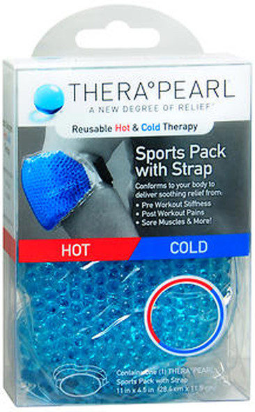 TheraPearl Reusable Hot & Cold Therapy Sports Pack with Strap - 1 each