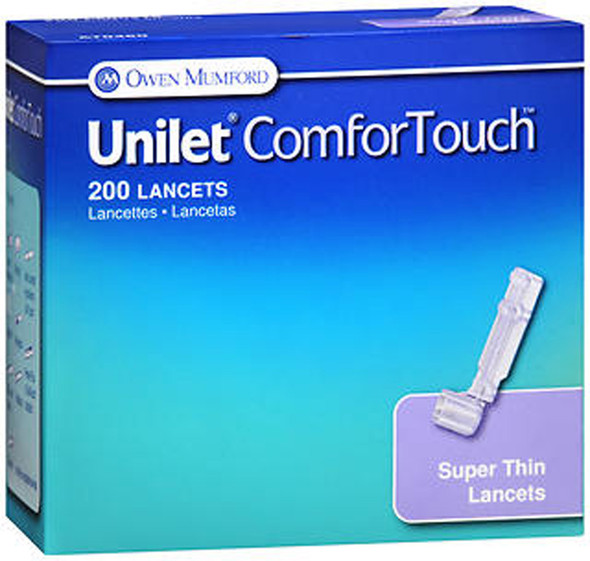 Owen Mumford Unilet ComforTouch Lancets - 200 ct