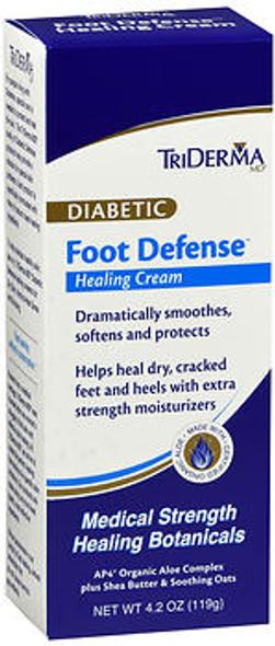 TriDerma MD Diabetic Foot Defense Healing Cream - 4.2 oz
