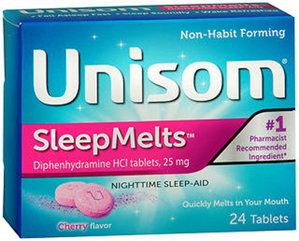 Unisom SleepMelts Cherry - 24 ct