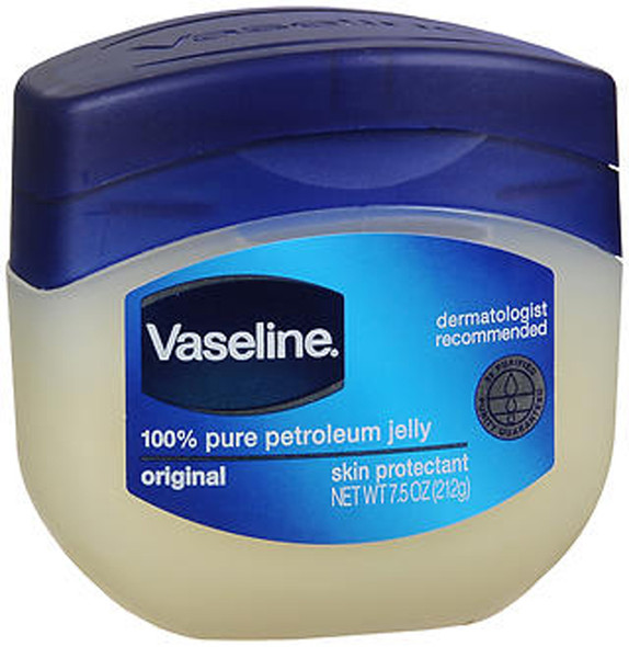 Vaseline, 100% Pure Petroleum Jelly, Original - 7.5 oz jar