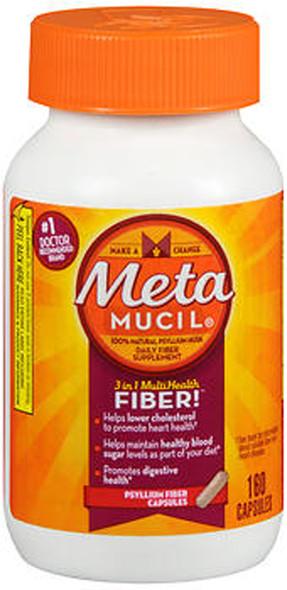 Metamucil MultiHealth Fiber - 160 Capsules