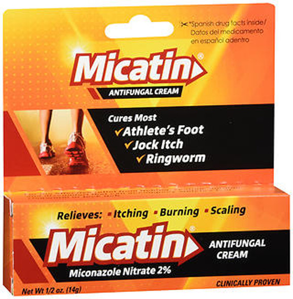 Micatin Antifungal Cream - 0.5 oz