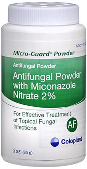 Coloplast Micro-Guard Antifungal Powder with Miconazole Nitrate 2% - 3 oz