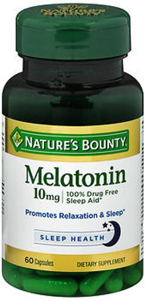 Nature's Bounty Melatonin 10 mg Maximum Strength - 60 Capsules