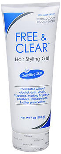 Free & Clear Hair Styling Gel - 7 oz