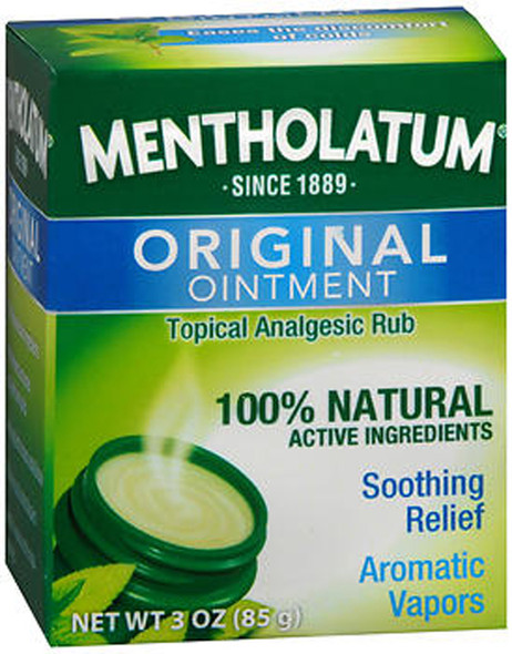 Mentholatum Topical Analgesic Ointment - 3 oz