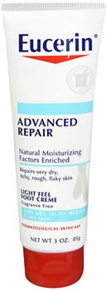 Eucerin Intensive Repair Foot Creme - 3 oz