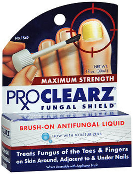 Proclearz Fungal Shield Brush-On Antifungal Liquid Maximum Strength - 1 oz