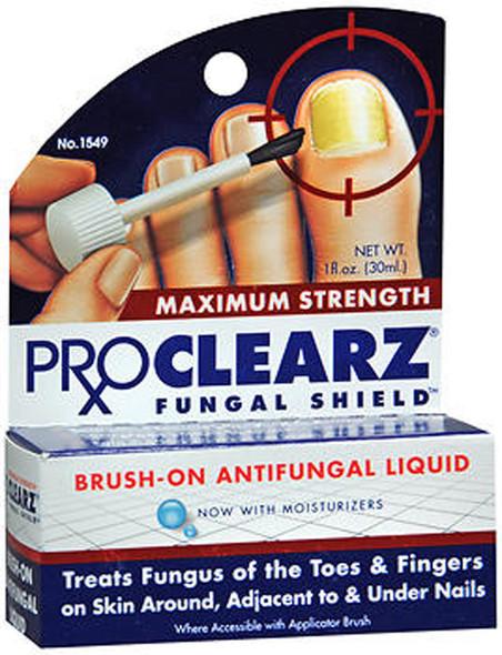 Proclearz Fungal Shield Brush-On Antifungal Liquid Maximum Strength - 1 oz