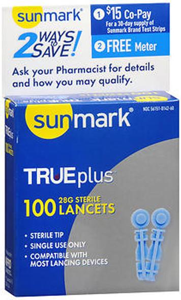 Sunmark Thin Lancets 28 Gauge - 100 ct.