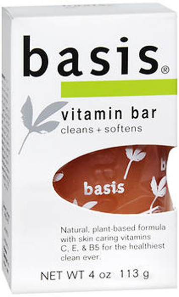 Basis Bar Vitamin - 4 oz Bar