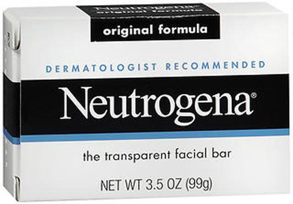 Neutrogena Facial Cleansing Bar Original Formula - 3.5 oz