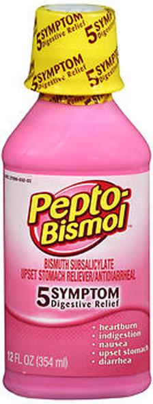 Pepto-Bismol Liquid Original - 12 oz