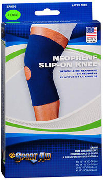 Sport Aid Neoprene Slip-On Knee Support XL - 1 ea.