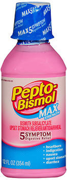 Pepto-Bismol Max Strength Liquid - 12 oz