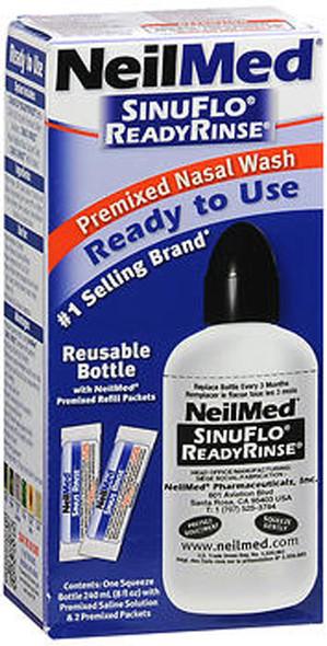 NeilMed SinuFlo ReadyRinse Premixed Nasal Wash - 8 oz