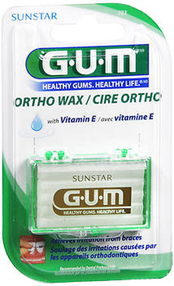GUM Orthodontic Wax with Vitamin E - Each