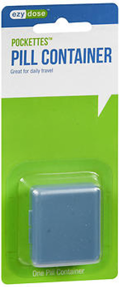 Ezy Dose Pockettes Pill Container 67012 1 each