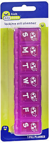 Ezy Dose Pill Reminder Adult-Lock Family #68696 - 1 Each