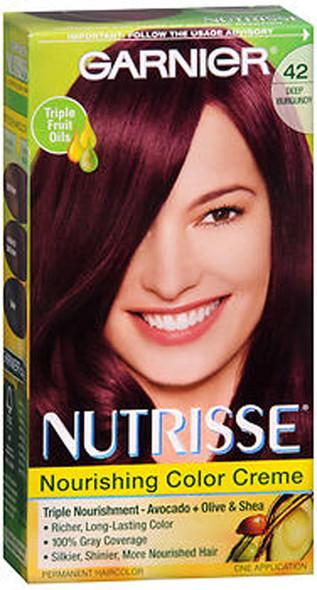 Garnier Nutrisse Nourishing Haircolor Creme 42 Deep Burgundy (Black Cherry)