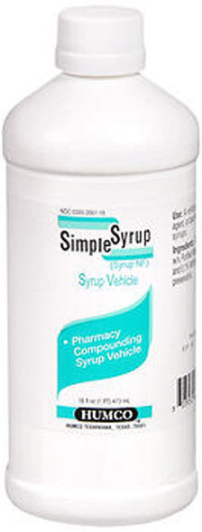 Humco Simple Syrup - 16 oz