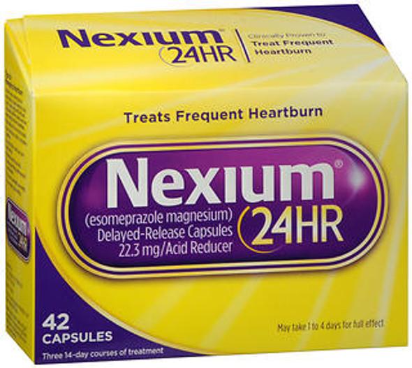 Nexium 24HR - 42 Capsules