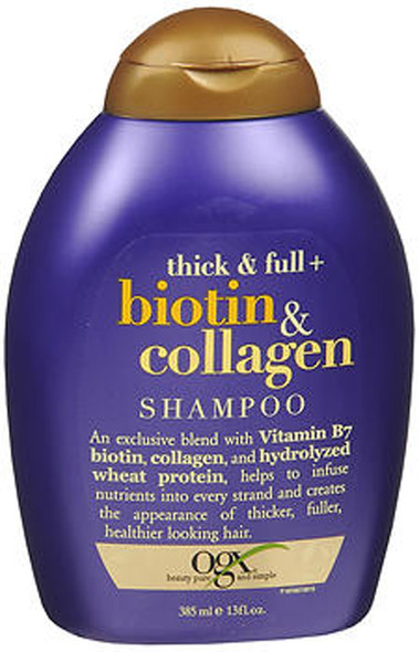 Ogx Thick Full Biotin Collagen Shampoo- 13 oz