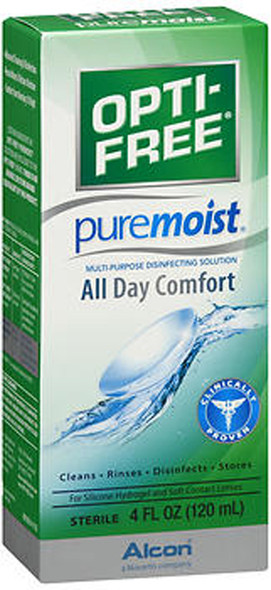 Opti-Free Puremoist Multi-Purpose Disinfecting Solution - 4 oz