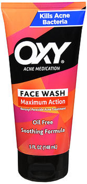 Oxy Acne Medication Rapid Treatment Face Wash Maximum Action - 5oz