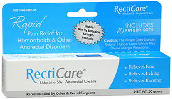 RectiCare Anorectal Cream - 30 gm