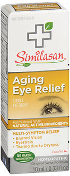 Similasan Aging Eye Relief Sterile Eye Drops - 0.33 oz