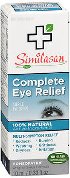 Similasan Complete Eye Relief Sterile Eye Drops - 0.33 oz