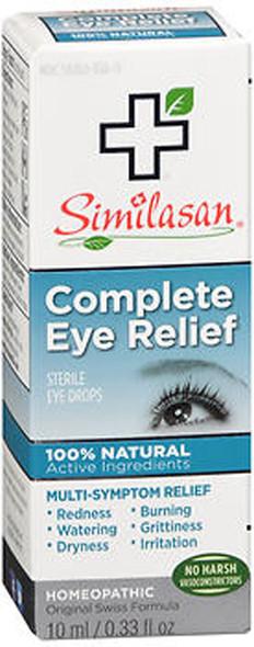 Similasan Complete Eye Relief Sterile Eye Drops - 0.33 oz