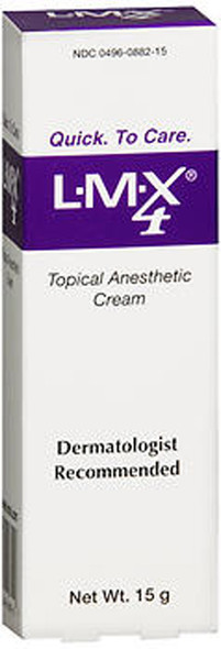 LMX 4 Topical Anesthetic Cream - 15 GM