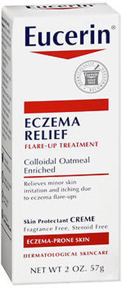 Eucerin Eczema Relief Instant Therapy Creme - 2oz