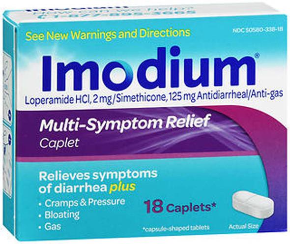 Imodium Multi-Symptom Relief Caplets - 18 Caplets
