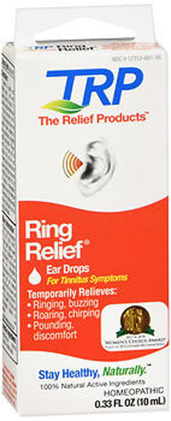 Ring Relief Homeopathic Ear Drops - 0.33 OZ