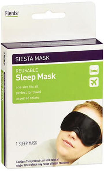 Flents Siesta Mask Reusable Sleep Mask - 1 ea.