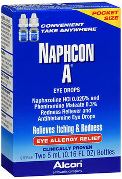 Naphcon A Allergy Relief Eye Drops 2 ct - 10 oz